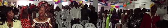 Congregation at Christ Kingdom Victory Church